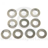 C-AHT288 Cylinder head (spring type) washer set of 10, ideal for competition use with the (CAM4545) head nuts.