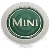 Mini Centre Cap in Green