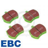 """Brake Pad Set - Mini 8.4"""" discs - Greenstuff"""