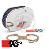 K&N Air Filter - Weber 45 DCOE - 45mm deep