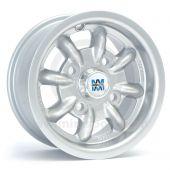 """5"""" x 12"""" Minilite Silver - Falken ZE912 Tyre Package"""