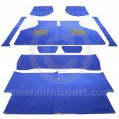 Mini Sport Electric Blue Carpet Set