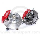 Mini 8.4'' Disc Brake Assemblies & Alloy 4 Pot Calipers