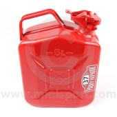 PH37.081 Steel Jerry fuel can from the Paddy Hopkirk Mini range finished in red