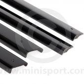 Charcoal Door Top Cappings set of 4 PMY516