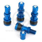 Richbrook Bolt In Wheel Valves - Anodised Blue