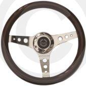 Wood Sport Steering Wheel - 340mm Spring Alex