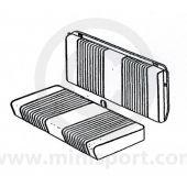Mini Traveller Mk2 67-70 Rear Seat Cover Kit
