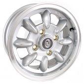 "5"" x 12"" silver/polished rim Ultralite alloy wheel and Falken ZE912 tyre package"