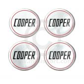 Mini Cooper Wheel Badges