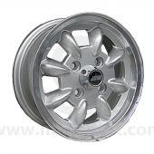 5 x 12 Minilight Wheel - Silver/Polished Rim