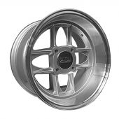 7 x 13 Mamba Wheel - Silver/Polished rim