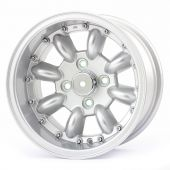 7 x 13 Superlight Split Rim Wheel - Silver/Polished Rim