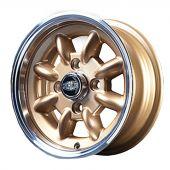 5 x 12 Superlight Wheel - Gold/Polished Rim