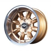 7 x 13 Superlight Wheel - Gold/Polished Rim