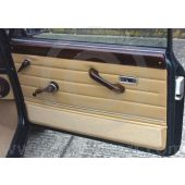 Mini 70on Door panel card with carpeted kick panel