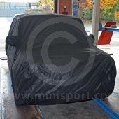 Classic Mini car cover in black