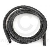 Spiral Wrap 12mm x 2m black jumbo