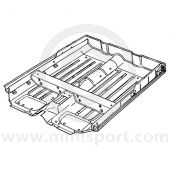 MCR33.33.00.00 Complete floor assembly, square shaped tunnel, Mini Van and Pick-up Mk3 and Mk4 models.