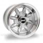"""Ultralite Classic Mini 6"""" x 10"""" Deep Dish Wheel in Silver"""