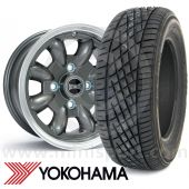 """WTP6X13KIT6 6"""" x 13"""" anthracite Ultralite alloy wheel and Yokohama A539 tyre package"""