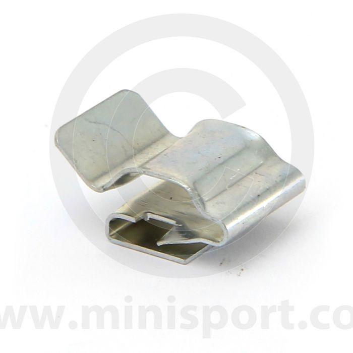 Classic Mini Brake Pipe Retaining Clips Front Subframe 11K9181 PAIR NEW