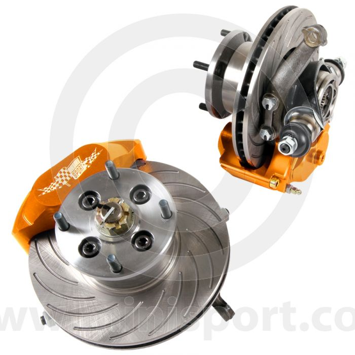 Mini 8.4'' Disc Drive Assembly Alloy Hubs and Flanges