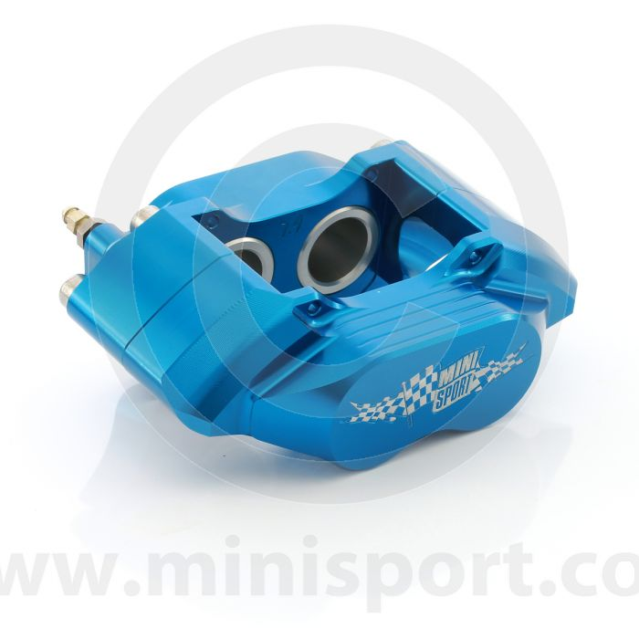 Blue Mini 8.4'' Alloy 4 Pot Calipers