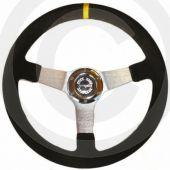 Rally Steering Wheel - 340mm Alcantara