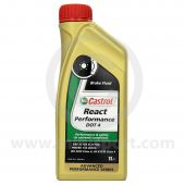 Castrol React Performance Brake Fluid Dot 4  for Classic Mini - 1Ltr