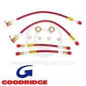 Goodridge Brake Hoses - Mini