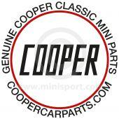 Cooper 90mm Sticker