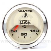 John Cooper Water Temperature Gauge - Magnolia and Chrome