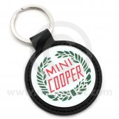 Mini Cooper Keyring featuring the Mini Cooper Laurel