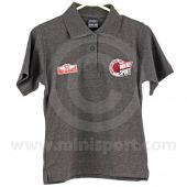 Ladie's Polo with embroidered HRCR & Mini Sport Cup logo