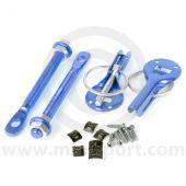 Competition Lightweight Mini Bonnet Pins - Blue
