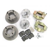 "MS2681 Mini Cooper S brake conversion kit - 12"" to 10"" wheels"