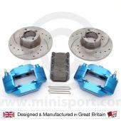 """BLUE 8.4"""" Brake Kit"""