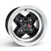 6 x 10 Revolution Alloy Mini Wheel - Black