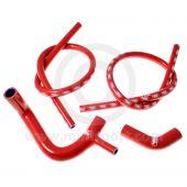 Samco Silicone Hose Kit - Mini 850/998/1098 - Red
