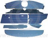 13 Piece Interior Panel Kit Mini Saloon 70-73 with Round Speedo