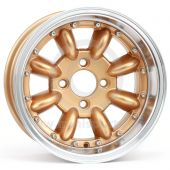 7 x 13 Superlight Split Rim Wheel - Gold/Polished Rim