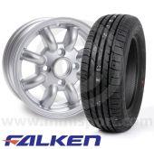 """4.5"""" x 12"""" Cooper Replica Wheel - Falken ZE914 Package"""