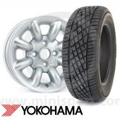 "165/60 R12  Yokohama A539 sports tyre the perfect performance tyre for your Mini with 12"" wheels"