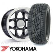 "7"" x 13"" Mamba Alloys in Black - Yoko A539 Package"