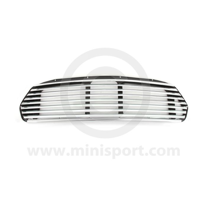 40-10-99-0 Cooper styled 8 bar front grille to fit Mini models Mk2 on '67-'01