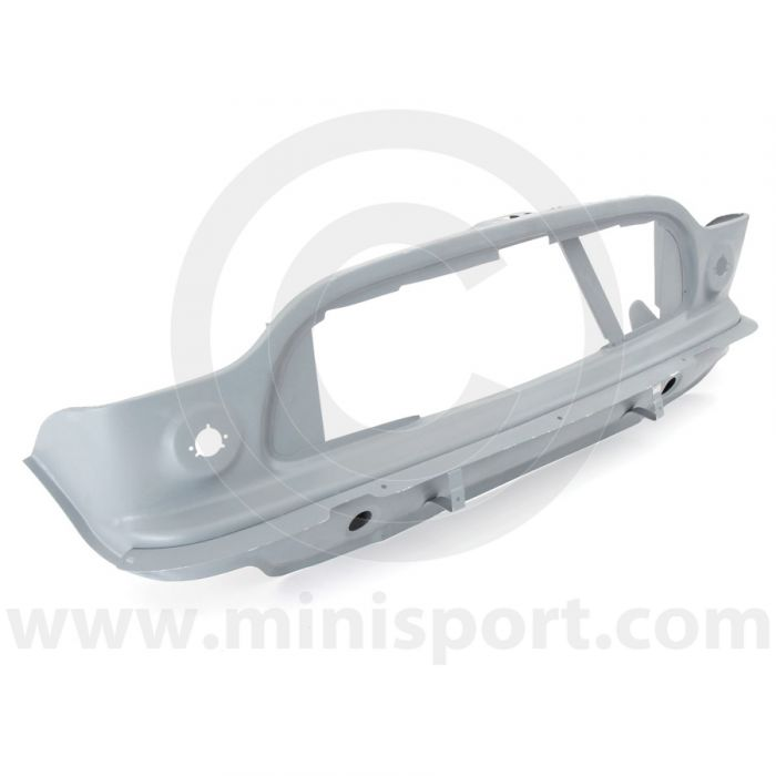 MCR51.18.01.00 Front panel with diagonal stiffener for oil cooler fitment on Mk1 Mini Cooper S 1964-1967