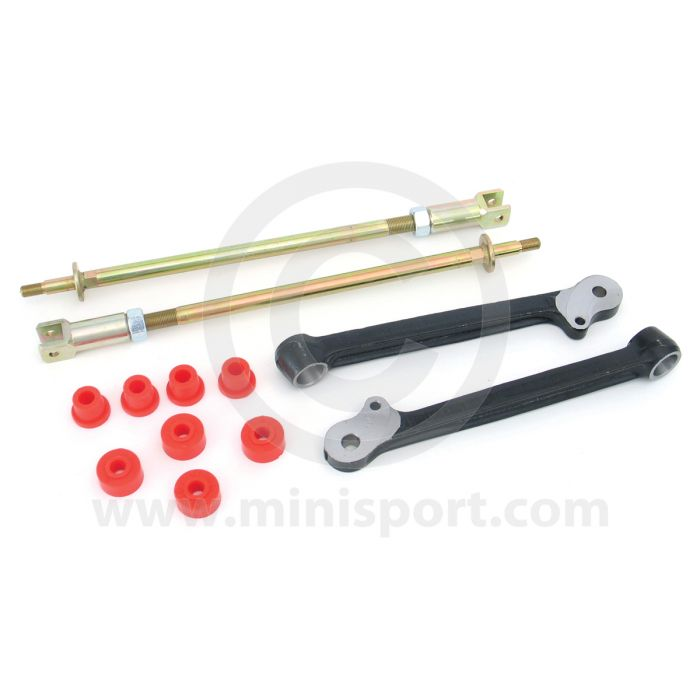 Classic Mini Adjustable Camber Lower Arms INCLUDING Polyflex Bushes bottom race