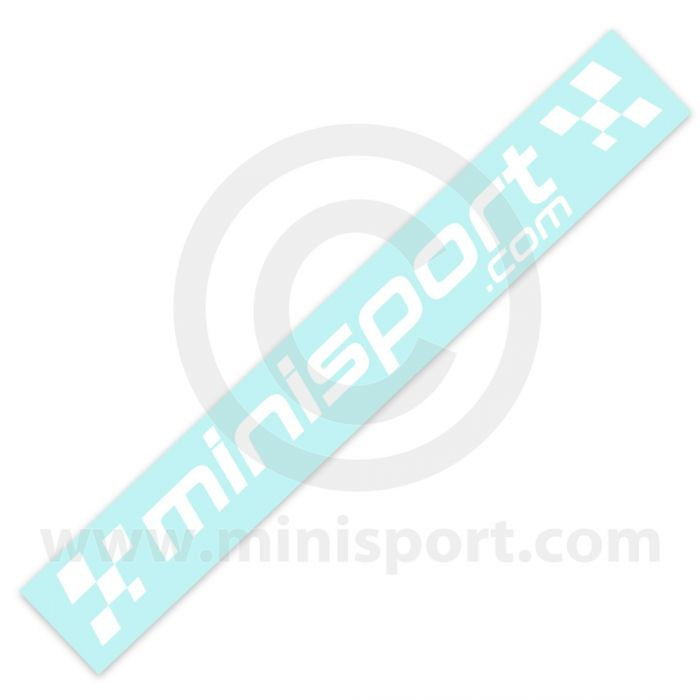 Mini Sport White Decal