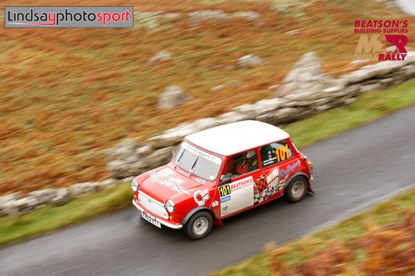 Team Mini Sport's Jack Hartley & James Campbell: Mull Rally 2021 Review
